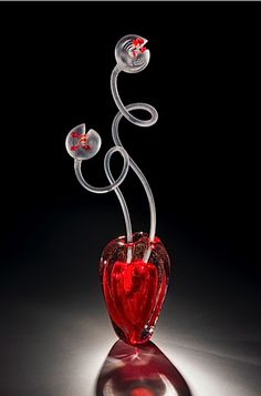 *Art Glass by Dominique Beaupré St-Pierre