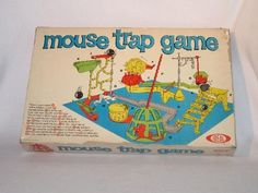 Mouse Trap Board Game--1963. Still being produced today! Great Fun!