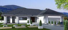 Projekt MADERA w IGN PROJEKTY DOMÓW - projekt parterowy, pow. 168,2 m2 - gotowe projekty domów jednorodzinnych.