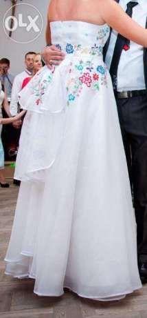 Folkowa suknia ślubna w stylu góralskim Nowy Sącz - image 5