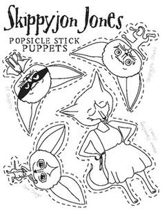 Skippyjon Jones Free Coloring Pages Activity Pages Etc Library