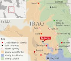 Iraq crisis: Shia volunteers confront Sunni insurgents in Samarra | World news | theguardian.com