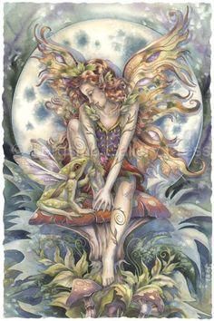 Magic Happens by Jody Bergsma ~ frog and fairy