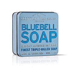 Scottish Fine Soaps Vintage Fragrances Soaps in a Tin Bluebell 3.5oz