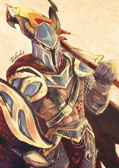 LOL - Dragon Slayer Pantheon My favorite skin