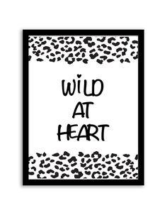Wild at Heart Wall Art