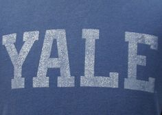 Vintage 90's YALE t shirt XL by retropopmanila on Etsy, $24.99