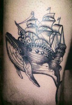 tattoo ship | Tumblr