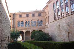 Patio interior | Parador de Alcañiz