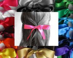 Hair Ribbons Satin Hair Ribbons 25 Long by HairYeHairYe Hair Ribbons, Women Jewelry, Unique Jewelry, Hair Color, Hair Accessories, Satin, Bows, Long Hair Styles, Trending Outfits