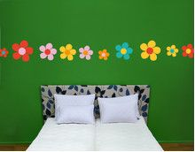 no.UL680 Colored Flowers Set