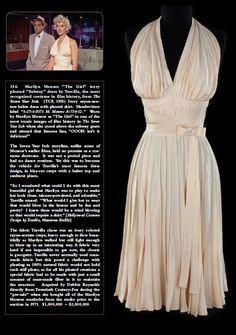 Marilyn Monroe's dress.... perfect!