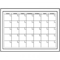 Wall Pops! Dry Erase Calendar from Brewster Home Fashions
