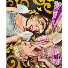 Cinderella <3 Rapunzel