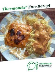 Lachs-Sahne-Gratin von Jeannette und Andy. Ein Thermomix ® Rezept aus der Kategorie Hauptgerichte mit Fisch & Meeresfrüchten auf www.rezeptwelt.de, der Thermomix ® Community.