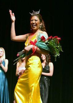 Chasta takes her first walk as Miss #Anaheim 2007 #MissCalifornia #MissAmerica