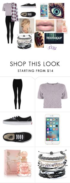"""""""Teen Wolf~ 5x12"""" by jonas-bros02 on Polyvore featuring M&S Collection, Monrow, Vans, Jessica Simpson, Domo Beads, Rails and TeenWolf"""