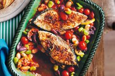 Steamed Fish with Chickpeas and Currants Recipe - CHOW