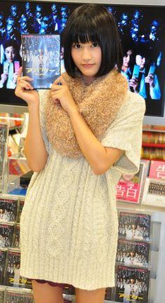 Another実写版の鳴役、橋本愛ちゃん(16才)が超美少女で可愛すぎる