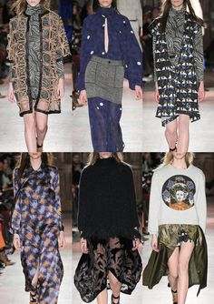 FASHION VIGNETTE: TRENDS // PATTERNBANK - NYFW . AW 2015/16 WOMENS' CATWALK PRINT HIGHLIGHTS PART 1