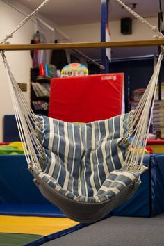 Tarzana Photo Gallery - We Rock the Spectrum Kids Gym Kids Gym, All Kids, Outdoor Chairs, Outdoor Furniture, Outdoor Decor, Sensory Equipment, We Rock, Hanging Chair, Spectrum