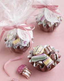 These candies will find a place at the vintage inspired cookie table!!