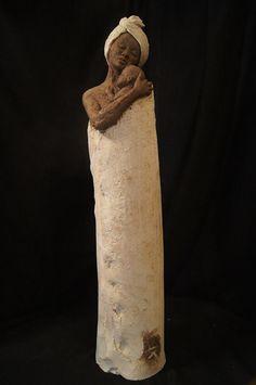 by Emilie Lacroix sculpture, ceramique Sculptures, Ceramics, Statue, Art, Terracotta, Figurative, Ceramica, Art Background, Pottery