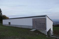Peter Märkli - Atelierhaus Weissacher, Rumisberg Basel, Brick Block, Architecture Details, Contemporary, Modern, Minimalism, Villa, Outdoor Decor, Bricks