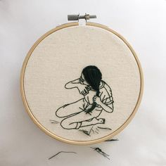"""8,700 Me gusta, 47 comentarios - Sheena Liam   粘悦馨 (@times.new.romance) en Instagram: """"For Sandra. Sometimes we have to take things into our own hands. #embroidery #embroideryart…"""""""