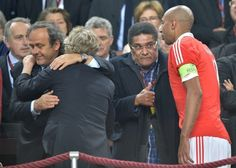 SPORTS And More: #SLBenfica #Luisao  440 games tied #Eusebio  #Benf...