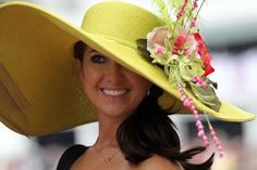 Lovely Kentucky Derby hat