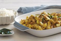 Dani Venn offers a fantastic curry dinner, packed with flavour, that is suitable for a vegan diet.