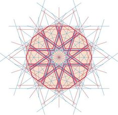 Alternative selections for a decagonal rosette