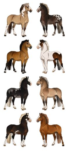 DeviantArt is the world's largest online social community for artists and art enthusiasts, allowing people to connect through the creation and sharing of art. Cute Horses, Beautiful Horses, Animal Drawings, Art Drawings, Star Stable Horses, Horse Animation, Horse Markings, Magnificent Beasts, Cute Fantasy Creatures