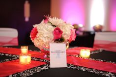 Thank you Alyse from Waterford Event Rentals for the beautiful linens & chair covers.