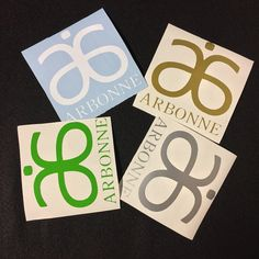 "ARBONNE Decal personalized customized, tumbler decal, arbonne decal 2""each by LaMiquiztli on Etsy"