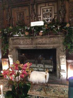 Patrick Lonn cozy fireplace #patricklohn #holidayhouse2013 #interiors #decor