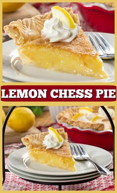 This buttery-lemon pie is so luscious, tangy, and delicious! If you've never had a Lemon Chess Pie before, you're in for a real treat!