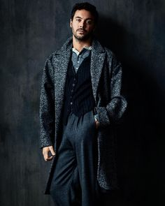 Jack Huston, photographed by Neil Gavin for MAN of the WORLD, issue 14, 2015.