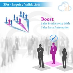 Sales Force Automation Software for Lead Validation - It makes your sales team more efficient , Your sales team will only communicate with the qualified leads, which saves their time and extra efforts to attract leads. It helps you to filter out unqualified leads. It enables you to identify sales ready leads, so you can focus on it. One can check all the previous interactions with the leads and can make reminder activities on it.