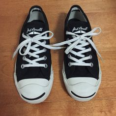 Converse Jack Purcell Signature Sneakers Converse Jack Purcell Signature Sneakers kids size 1. Lightly worn twice! Does not include original box. In great condition! Feel free to make an offer! Converse Shoes