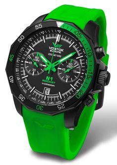 Vostok Europe Rocket N1 Chrono Quartz Watch 6S21/2254252+N&S