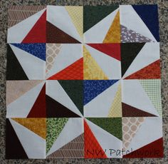 "NW Patchwork: ""Bee Sew Modern"" Quilt Top Finish"