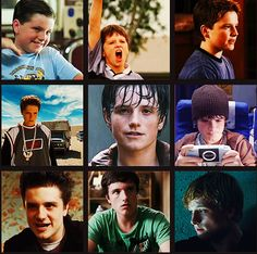 Look at Josh grow up on screen. Adorable.