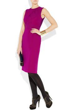 BURBERRY LONDON  Silk-georgette dress