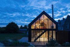 Extension De Maison : Entre Loft Et Pierre Apparente Le Moderne Trouve  Merveilleusement Bien Sa Place