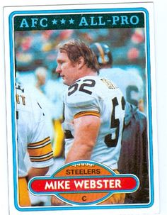 1 Steeler C 1974 1988 Mike Webster Mike Webster dc34e01a5