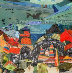 """Saatchi Online Artist: Brandi Strickland; Assemblage / Collage, 2010, Mixed Media """"Heaven"""""""