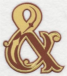 Machine Embroidery Designs at Embroidery Library! - Western Alphabet