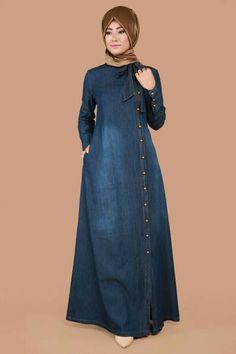 Women S Fashion Stores Queenstown Tesettür Tunik Modelleri 2020 Hijab Style Dress, Modest Fashion Hijab, Hijab Chic, Abaya Fashion, Fashion Dresses, Modest Outfits, Stylish Dresses, Muslim Women Fashion, Islamic Fashion